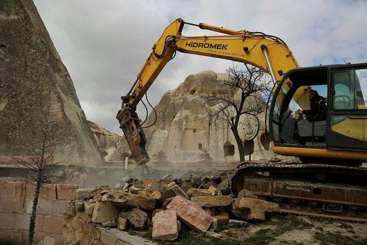 Kapadokya nın yapısını bozanlara 200 bin liraya kadar ceza #4