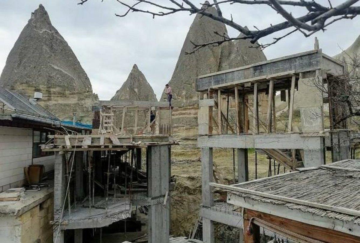 Kapadokya nın yapısını bozanlara 200 bin liraya kadar ceza #3