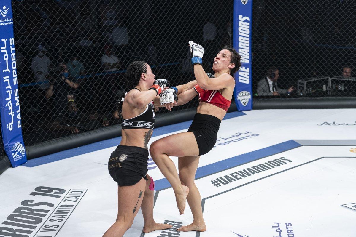 Sabriye Şengül MMA de kazanan ilk Türk kadın oldu #4