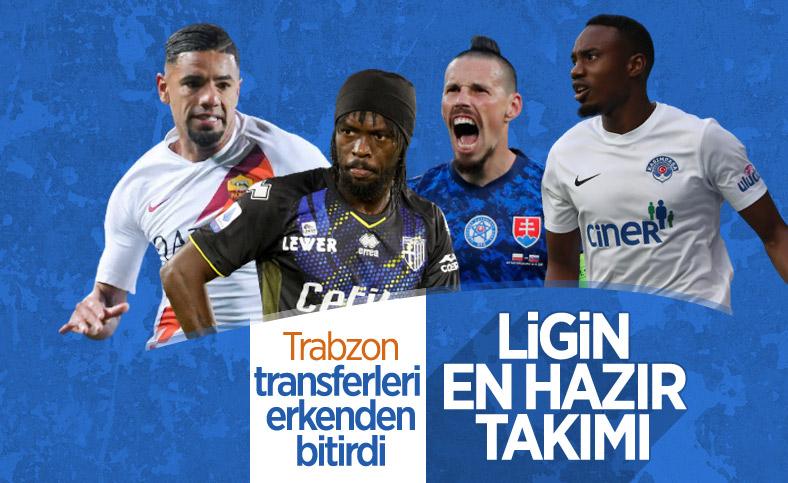 Süper Lig'in en hazırı Trabzonspor