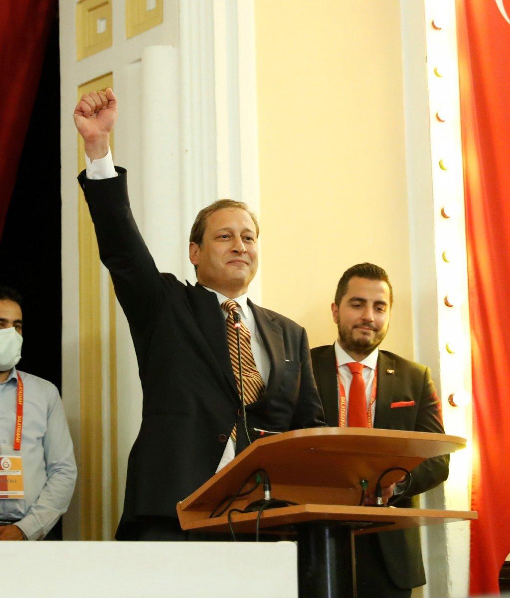 Galatasaray ın 38. başkanı Burak Elmas oldu #6