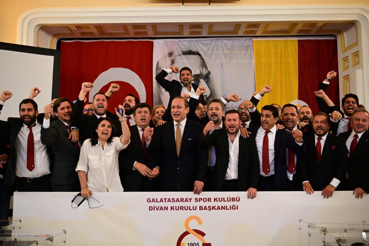 Galatasaray ın 38. başkanı Burak Elmas oldu #7
