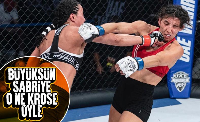 Sabriye Şengül MMA'de Ftouhi'ye karşı kazandı
