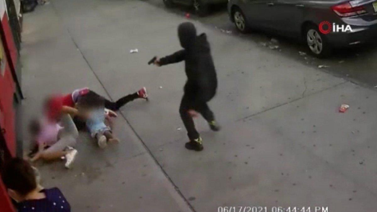 ABD de çocukların gözü önünde kurşun yağdırdı #3
