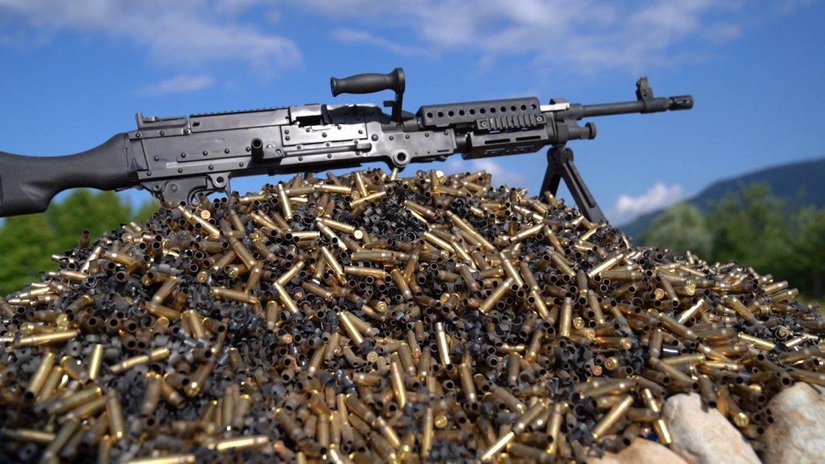 Yerli ve milli makineli tüfek  SAR 762 MT  görücüye çıktı #2