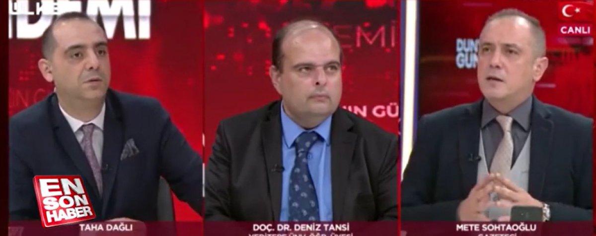 TV kanallarında canlı yayında deprem anları #2