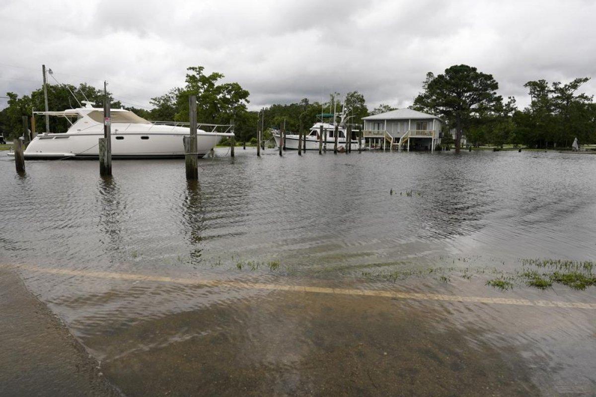 ABD de kuvvetli yağış, sele neden oldu #1