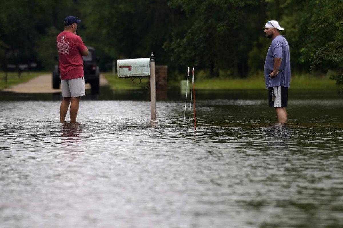 ABD de kuvvetli yağış, sele neden oldu #5