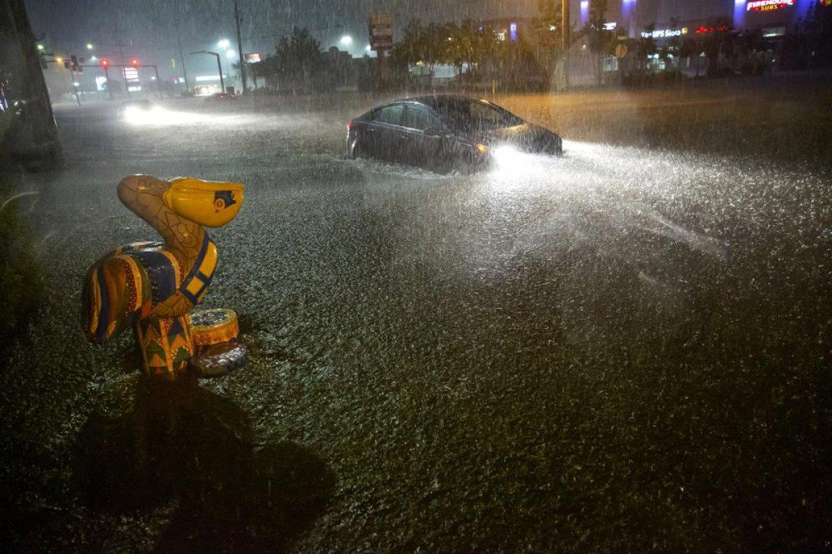 ABD de kuvvetli yağış, sele neden oldu #2