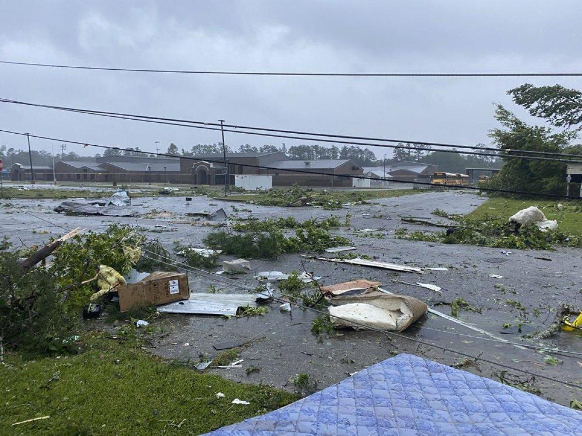 ABD de kuvvetli yağış, sele neden oldu #7