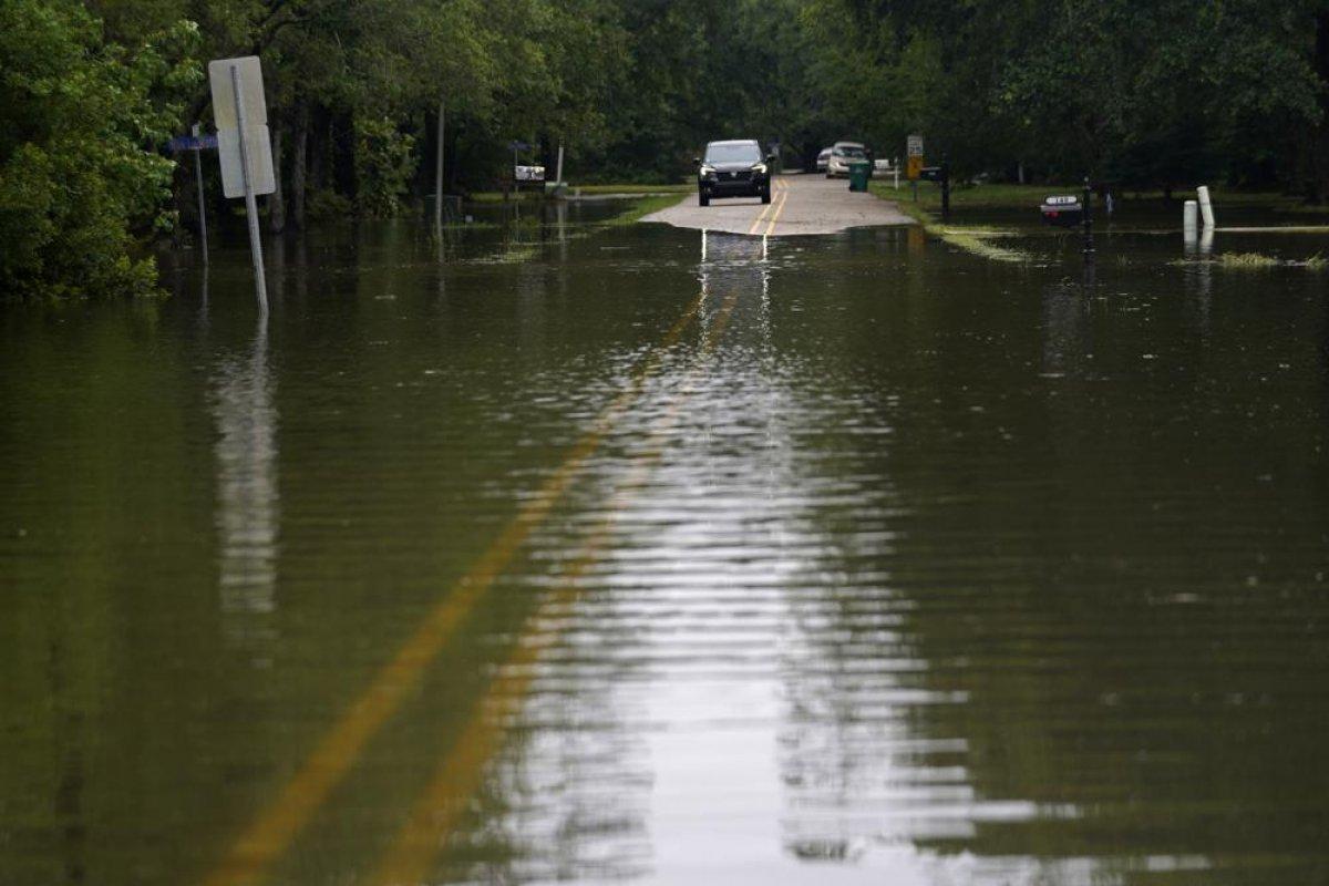 ABD de kuvvetli yağış, sele neden oldu #4