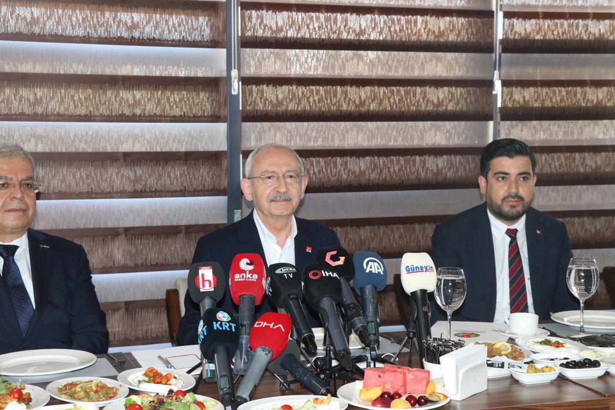 Kemal Kılıçdaroğlu: Kimse Kanal İstanbul ihalesine girmesin #1