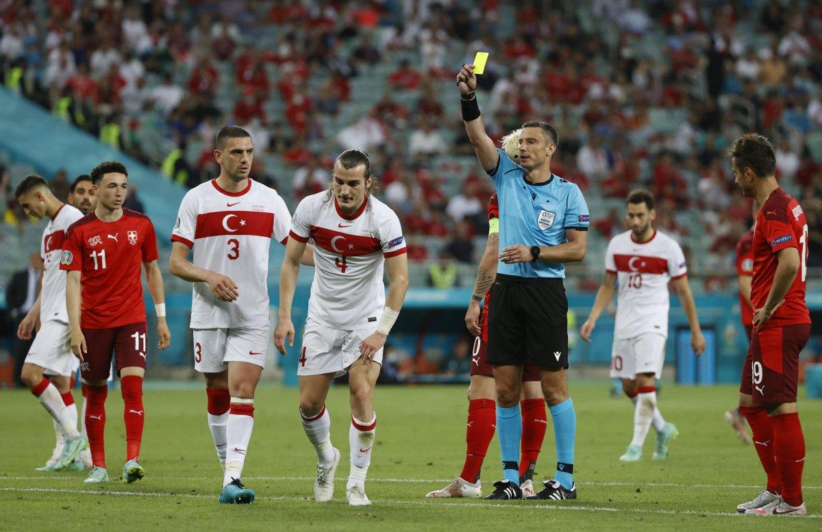 İsviçre ye de yenilen Türkiye EURO 2020 ye veda etti #3