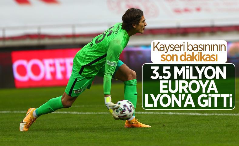 Kayserispor Lyon'un Doğan Alemdar teklifini kabul etti