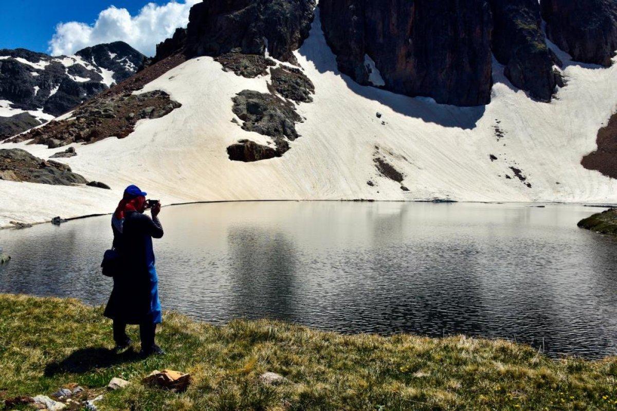 Gümüşhane Artabel Gölleri Tabiat Parkı ziyaretçi akınına uğruyor  #9