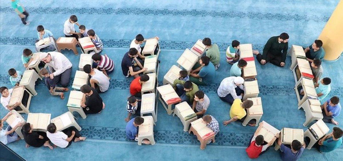 Yaz Kur an kursu kayıtları yarın başlıyor #1