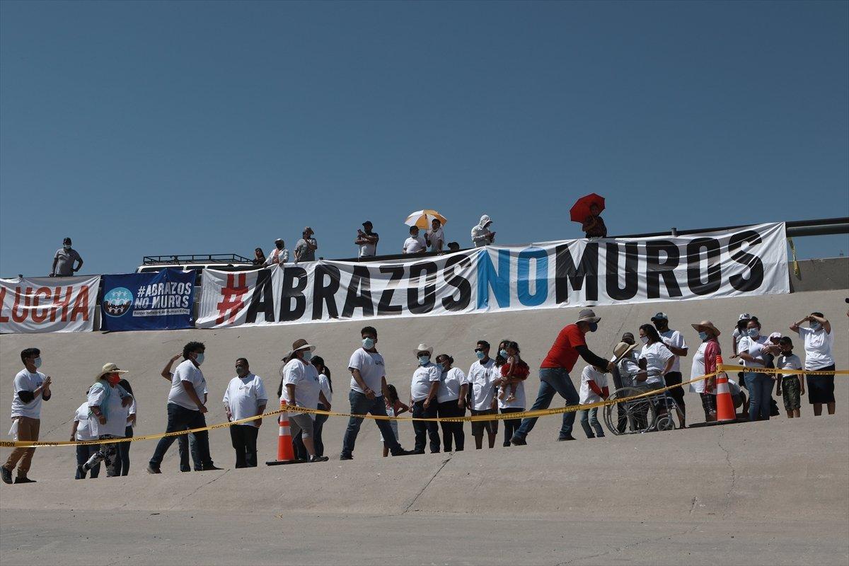 ABD - Meksika sınırında gösteri #6