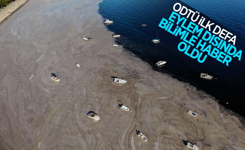ODTÜ: Müsilaj, denizin ilk 30 metrelik tabakasında yığıldı