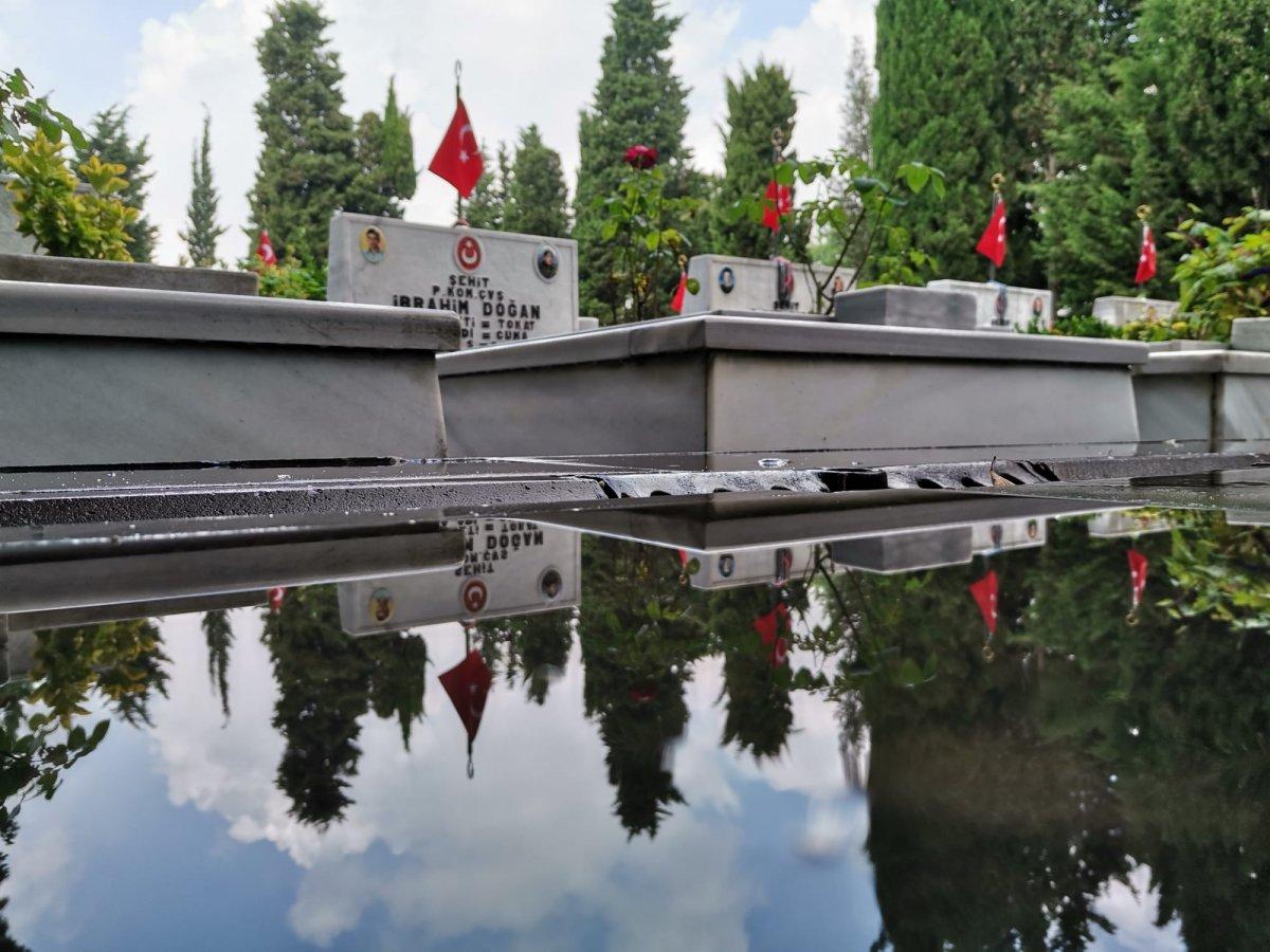 Edirnekapı Şehitliği'nde Babalar Günü buruk geçti  #1