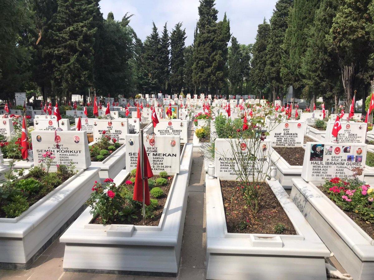 Edirnekapı Şehitliği'nde Babalar Günü buruk geçti  #4