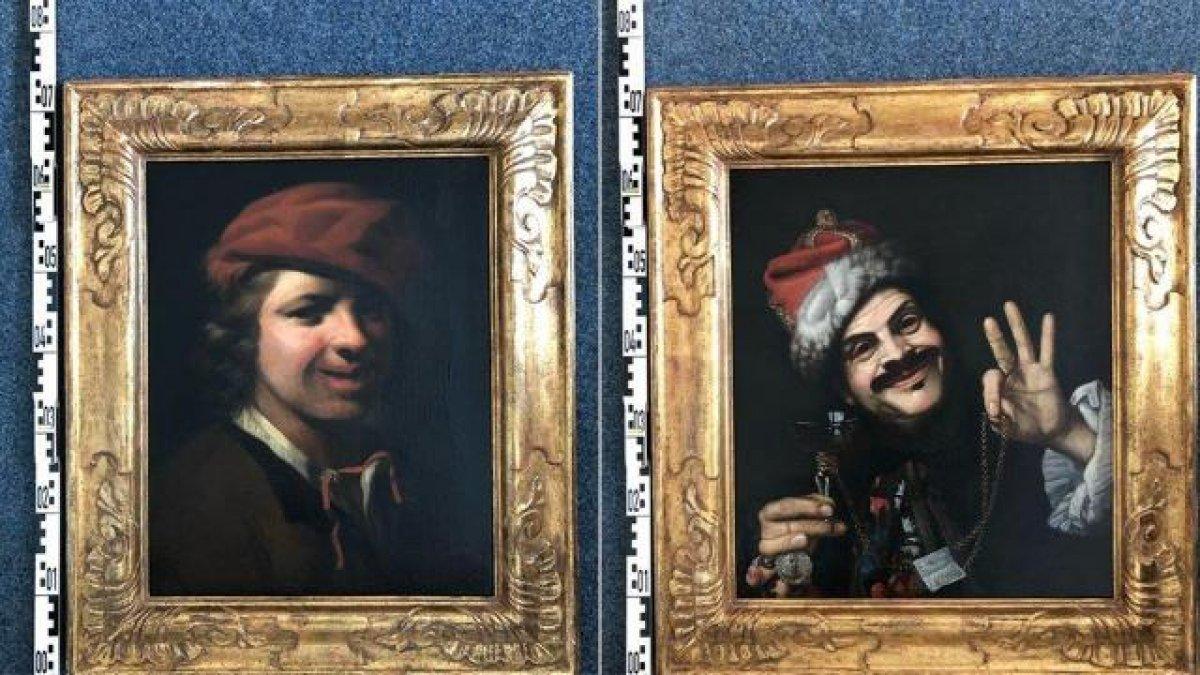 İtalya da çöpten iki çok değerli tablo çıktı #1