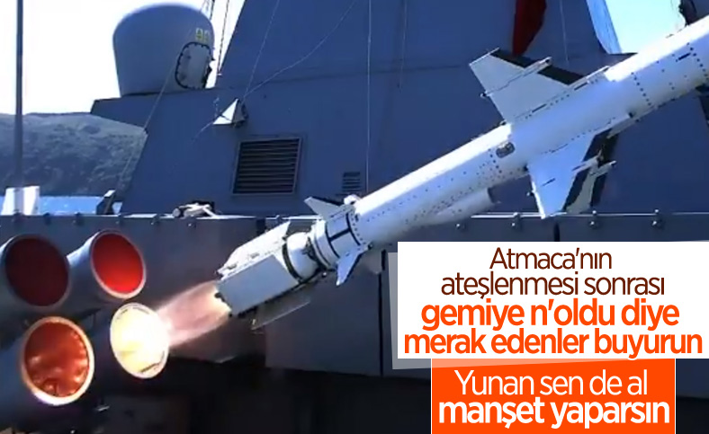 Mustafa Varank, Atmaca'nın vurduğu gemiyi paylaştı: Güçlü ve etkin