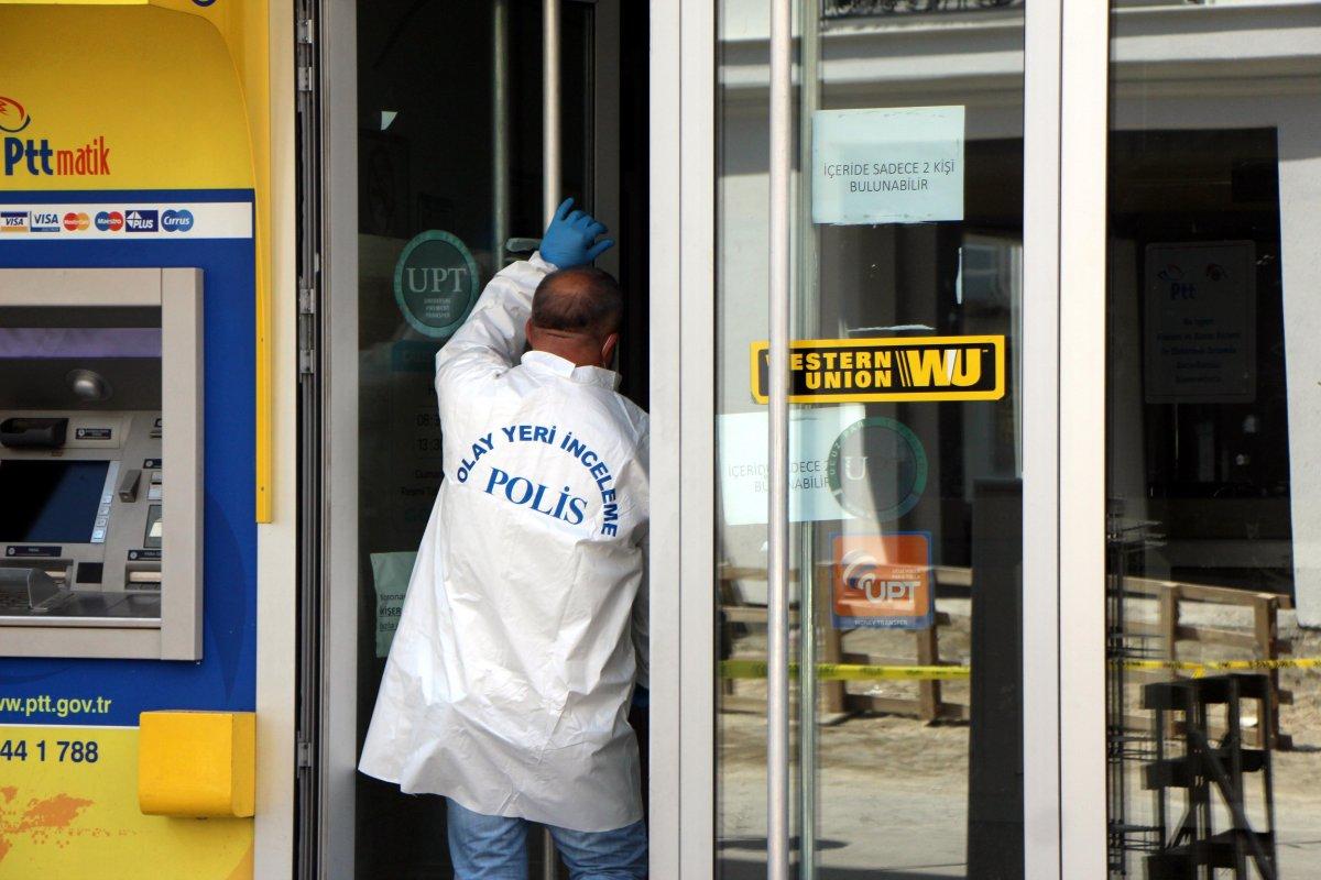 Bolu da PTT şubesinden 170 bin lira çalan güvenlik görevlisi tutuklandı #5
