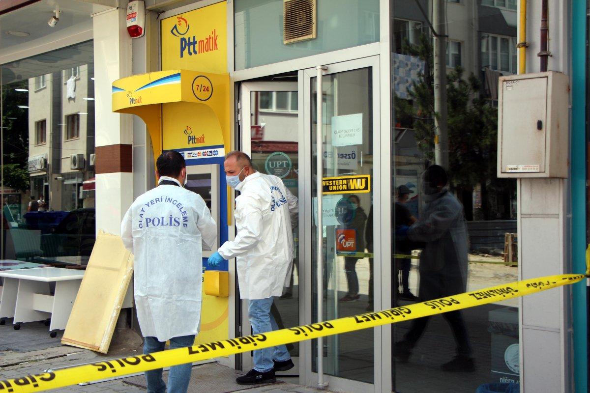 Bolu da PTT şubesinden 170 bin lira çalan güvenlik görevlisi tutuklandı #2