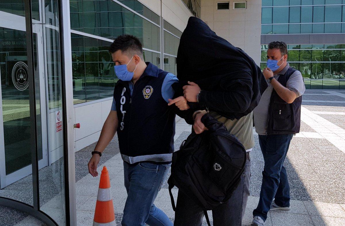 Bolu da PTT şubesinden 170 bin lira çalan güvenlik görevlisi tutuklandı #6