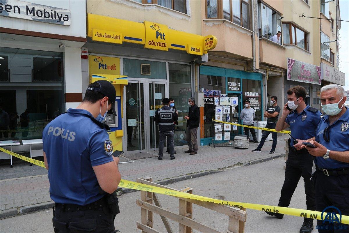 Bolu da PTT şubesinden 170 bin lira çalan güvenlik görevlisi tutuklandı #4