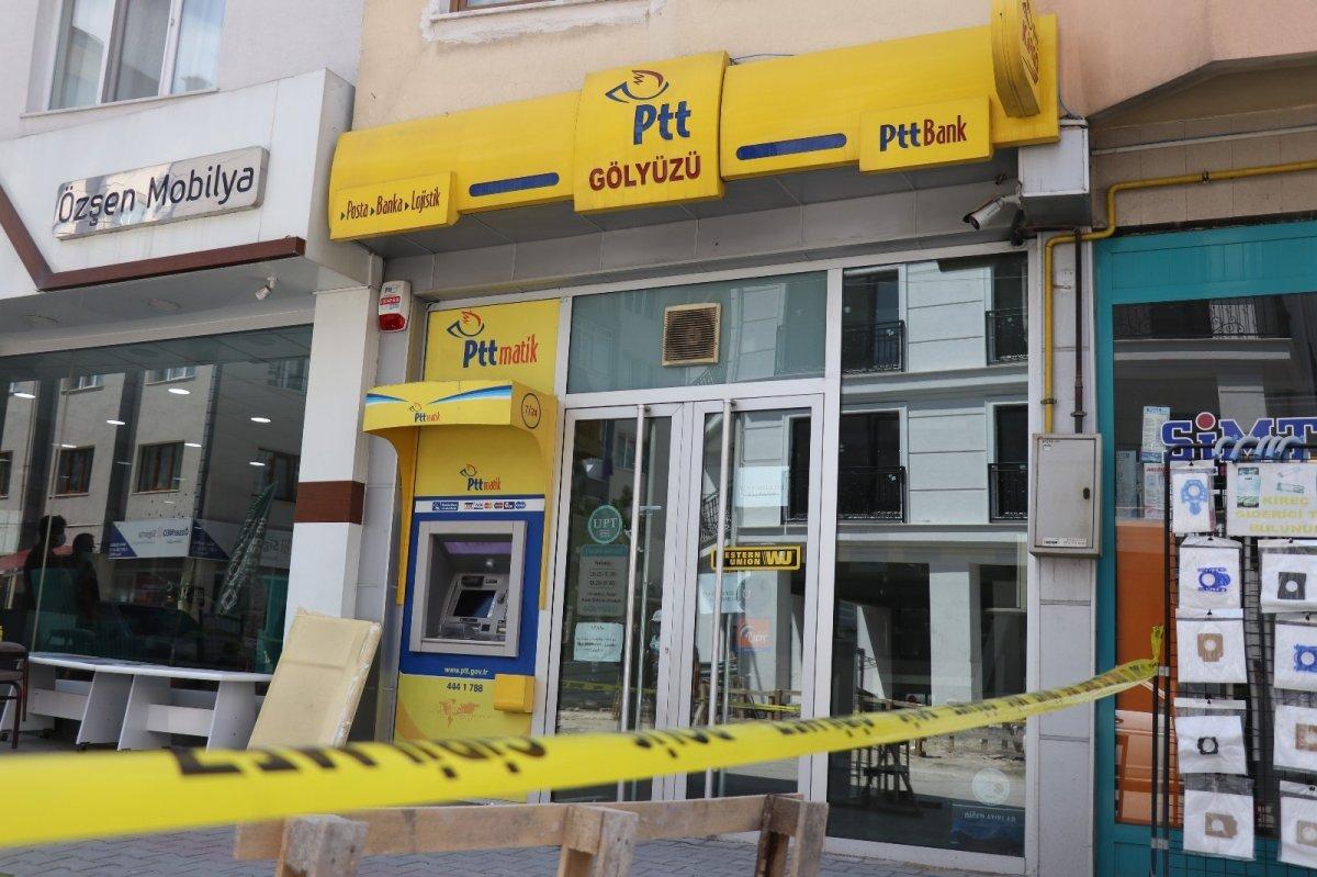 Bolu da PTT şubesinden 170 bin lira çalan güvenlik görevlisi tutuklandı #3