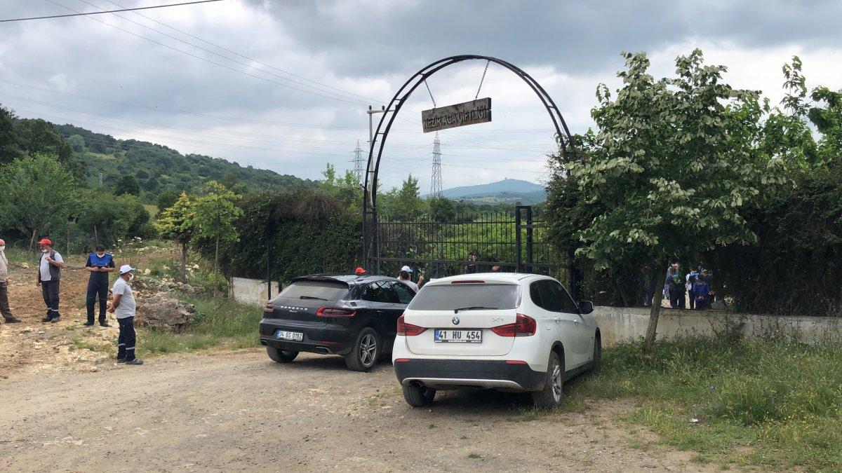 Kocaeli'de Lütfü Türkkan'ın kaçak çiftliğinde tahliye çalışmaları #6
