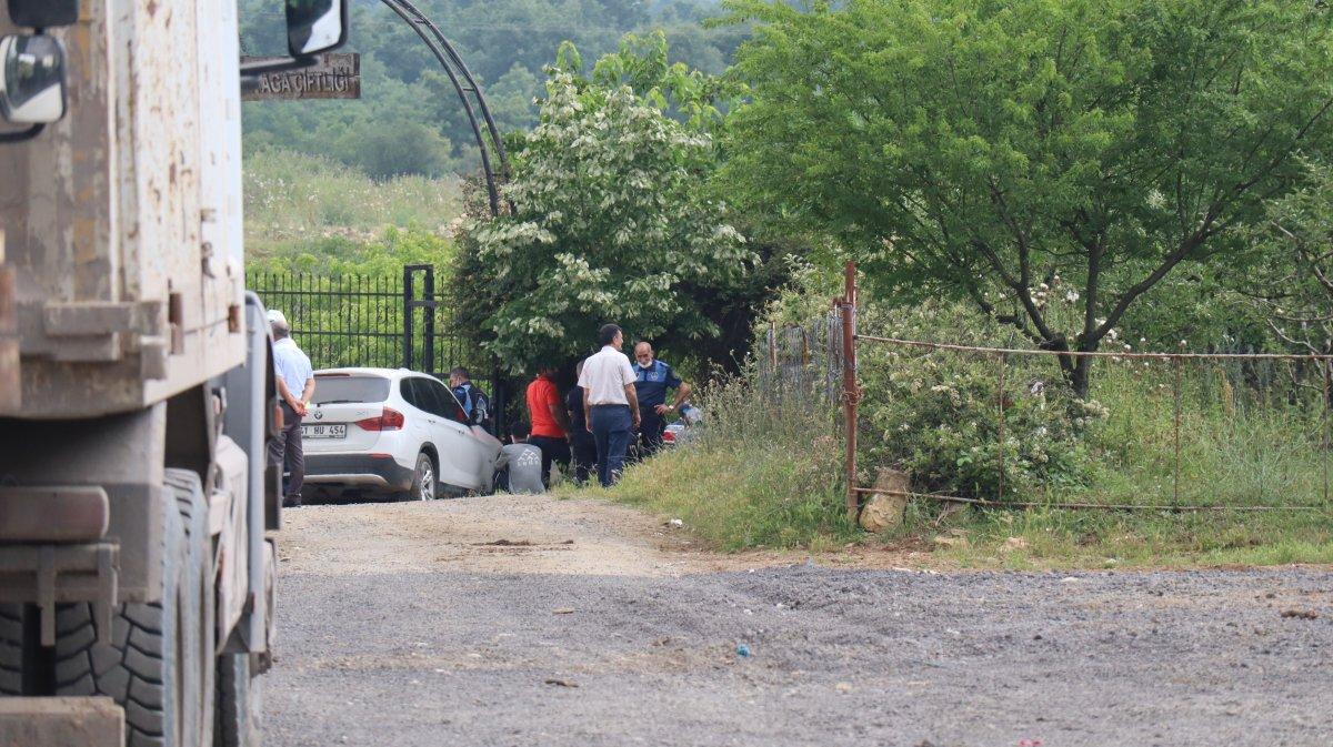 Kocaeli'de Lütfü Türkkan'ın kaçak çiftliğinde tahliye çalışmaları #3