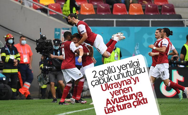 Avusturya, Ukrayna'yı tek golle geçti