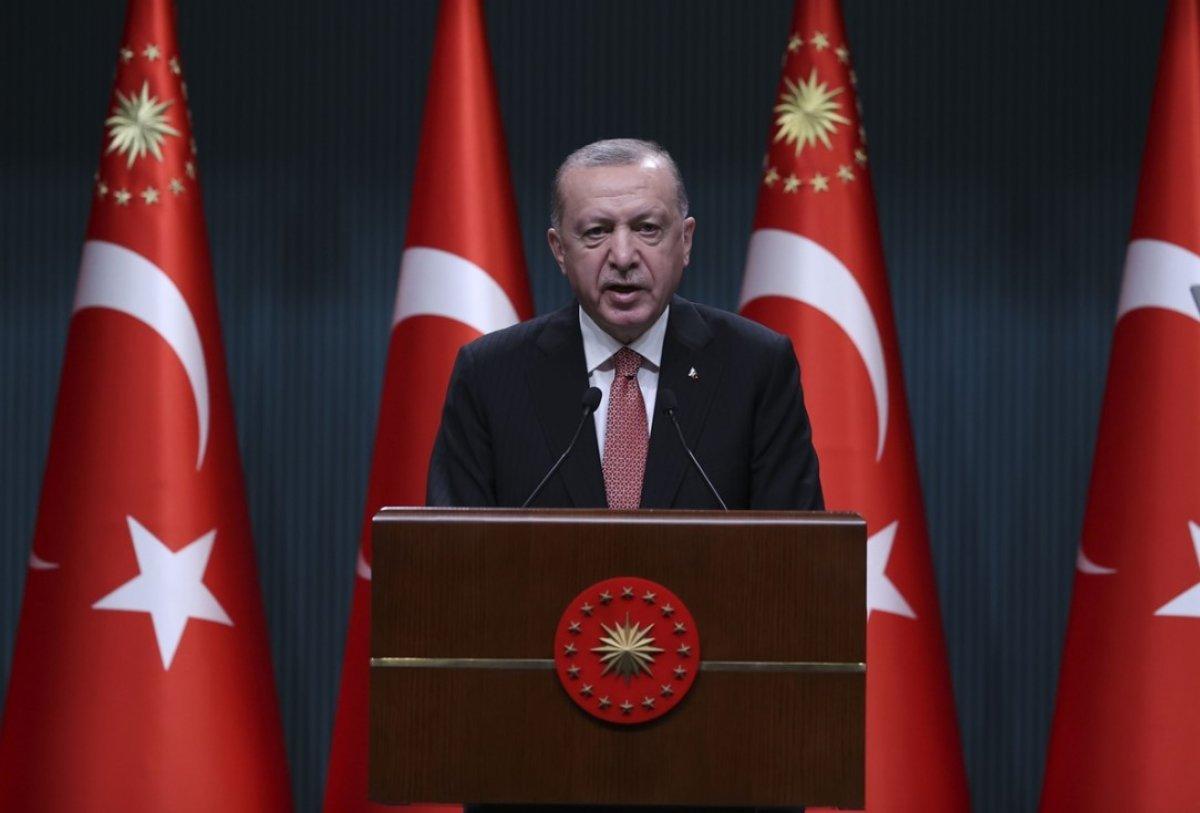 Cumhurbaşkanı Erdoğan dan aşı olun mesajı #1