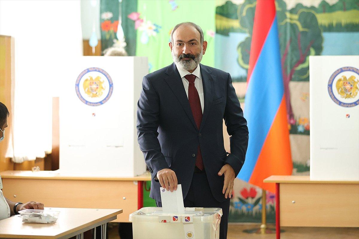 Nikol Paşinyan dan gece yarısı seçim zaferi konuşması #2