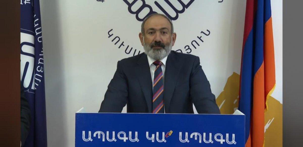 Nikol Paşinyan dan gece yarısı seçim zaferi konuşması #1