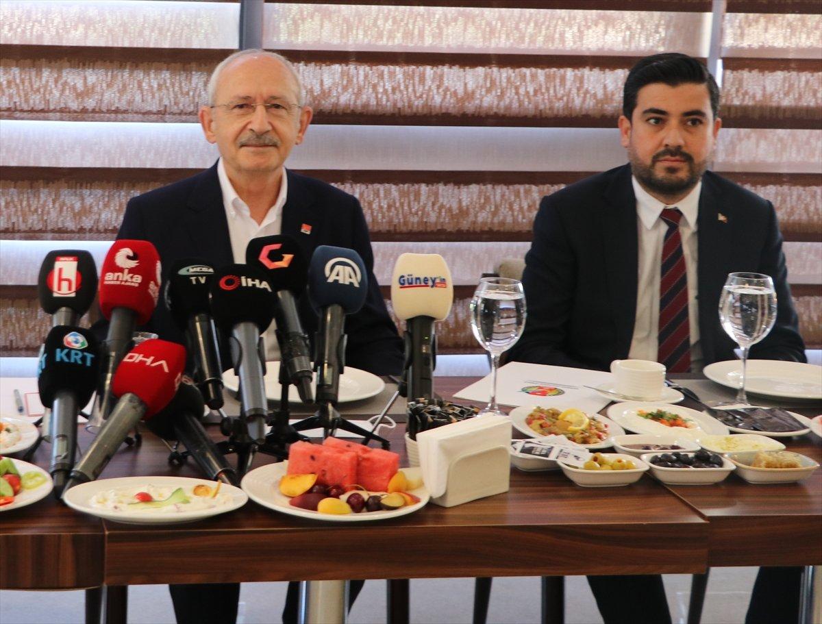 Kemal Kılıçdaroğlu nun HDP ile ittifak sorusuna cevabı #1