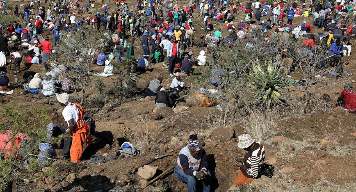 Güney Afrika da keşfedilen taşların kuvars kristalleri olduğu belirlendi #1
