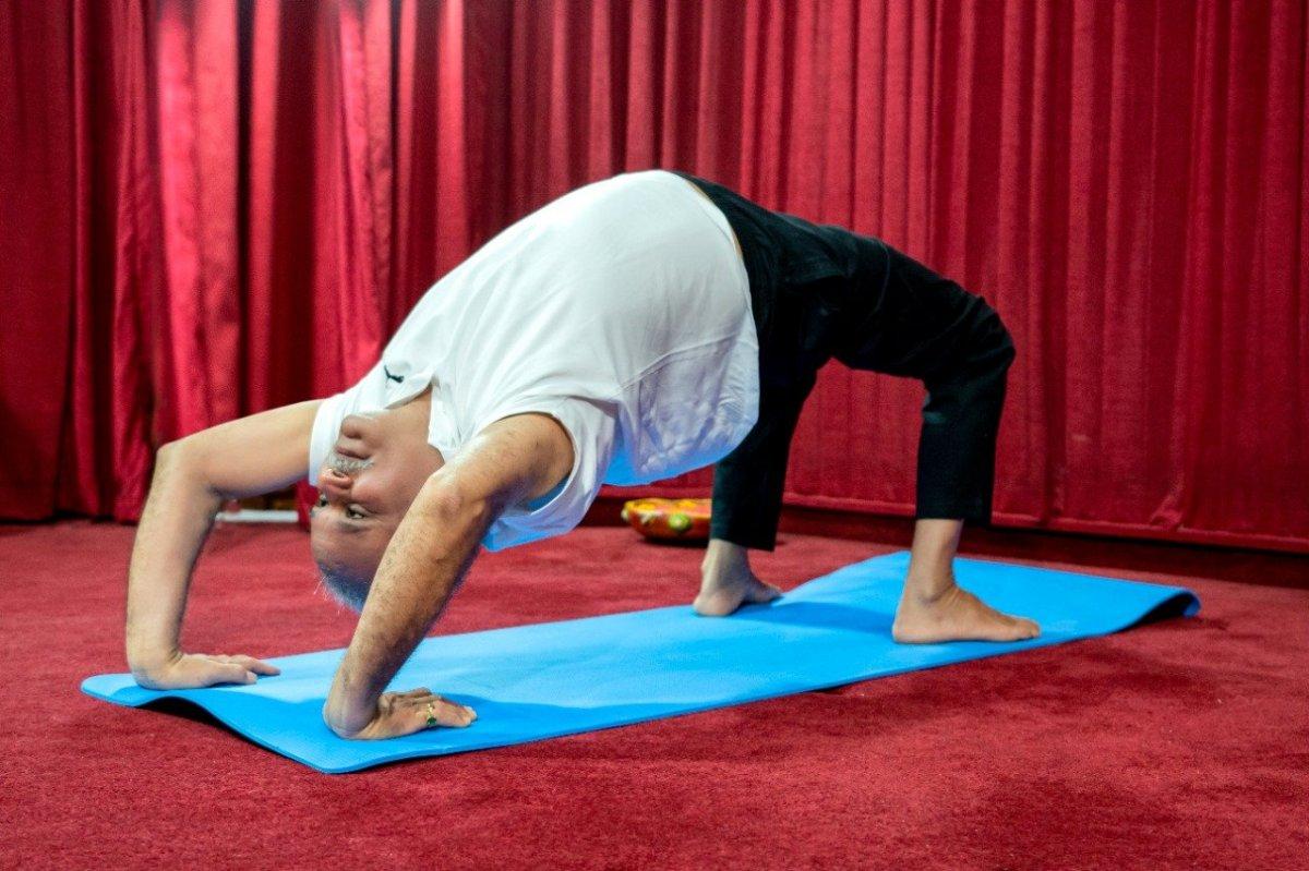 Hindistan da Uluslararası Yoga Günü kutlaması #9