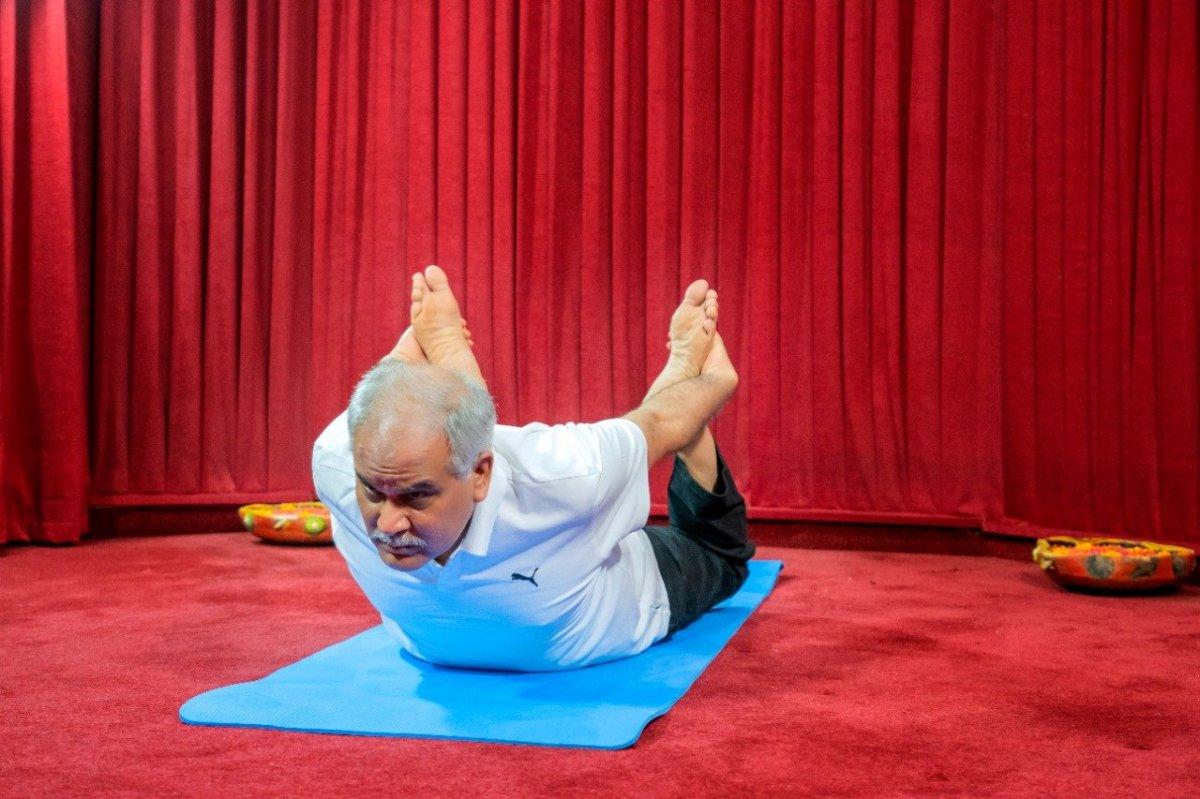 Hindistan da Uluslararası Yoga Günü kutlaması #8