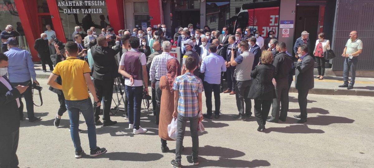 CHP, 60 kişilik heyetle Erzurum a gitti #2