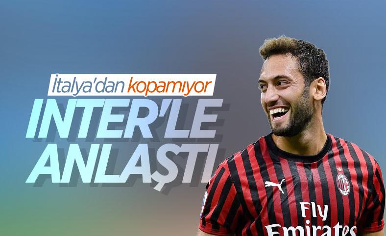 Hakan Çalhanoğlu, Inter'le anlaştı