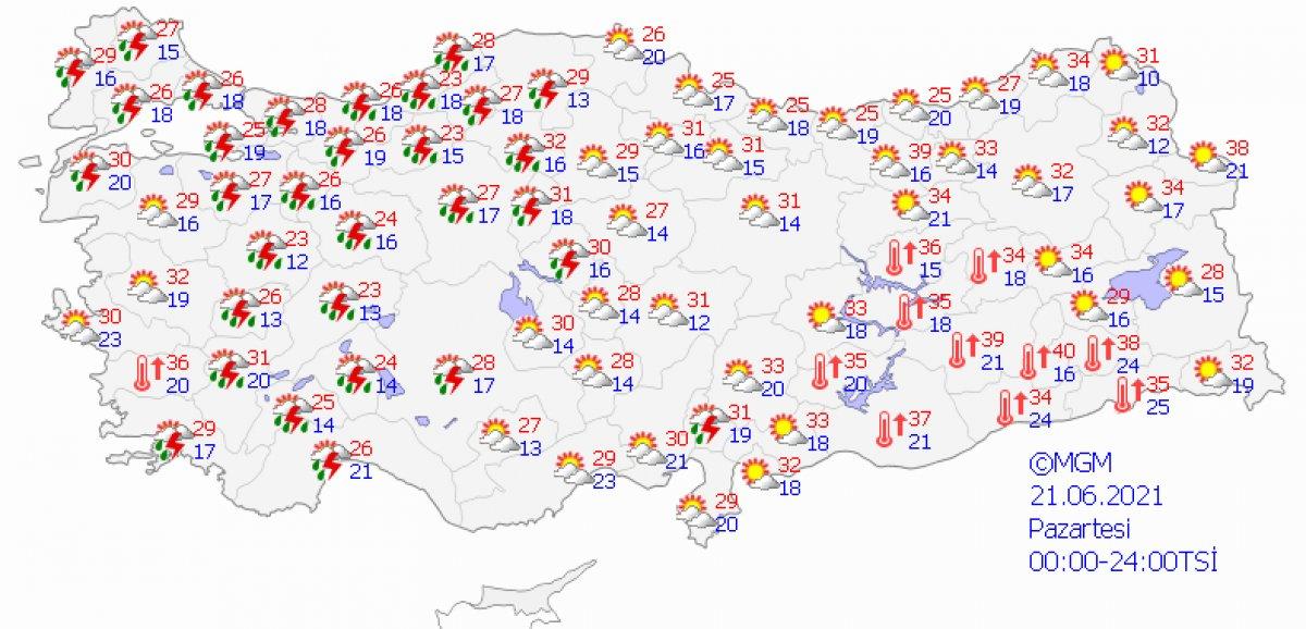Meteoroloji'den uyarı: İstanbul 4 gün boyunca yağışlı olacak #1