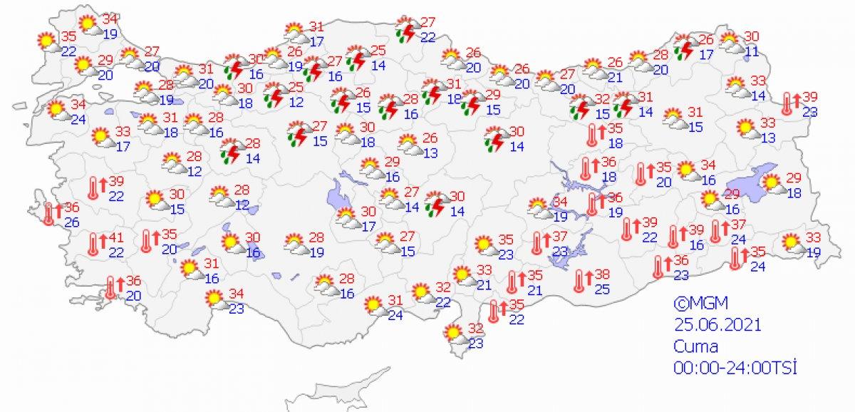 Meteoroloji'den uyarı: İstanbul 4 gün boyunca yağışlı olacak #5