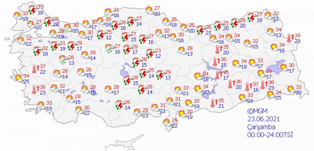 Meteoroloji'den uyarı: İstanbul 4 gün boyunca yağışlı olacak #3