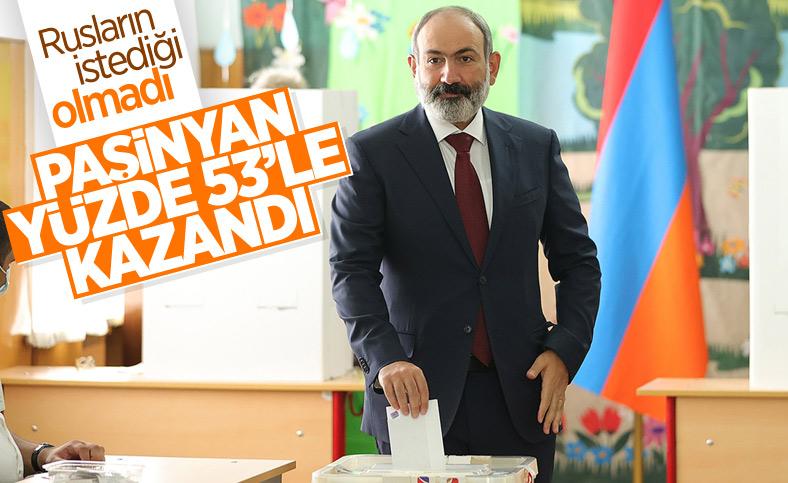 Nikol Paşinyan'dan gece yarısı seçim zaferi konuşması