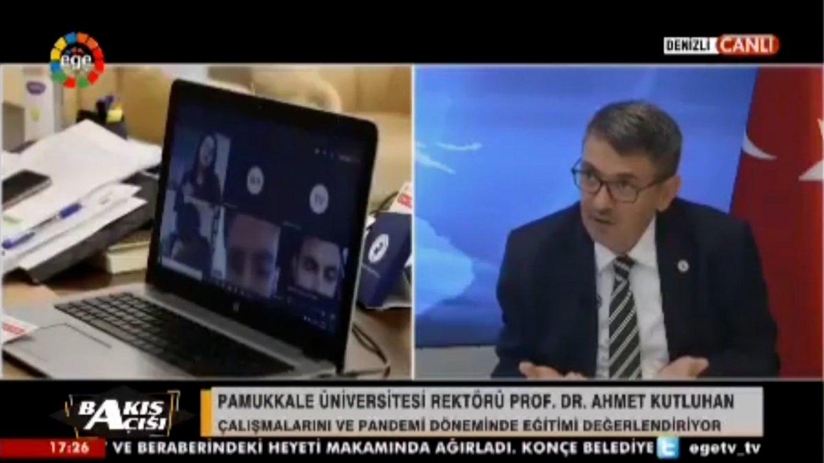 Pamukkale Üniversitesi Rektörü Ahmet Kutluhan dan şaşırtan açıklama #2