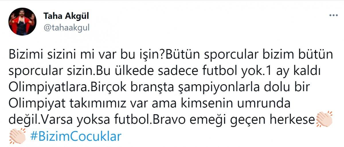 Taha Akgül: Bu ülkede sadece futbol yok #2