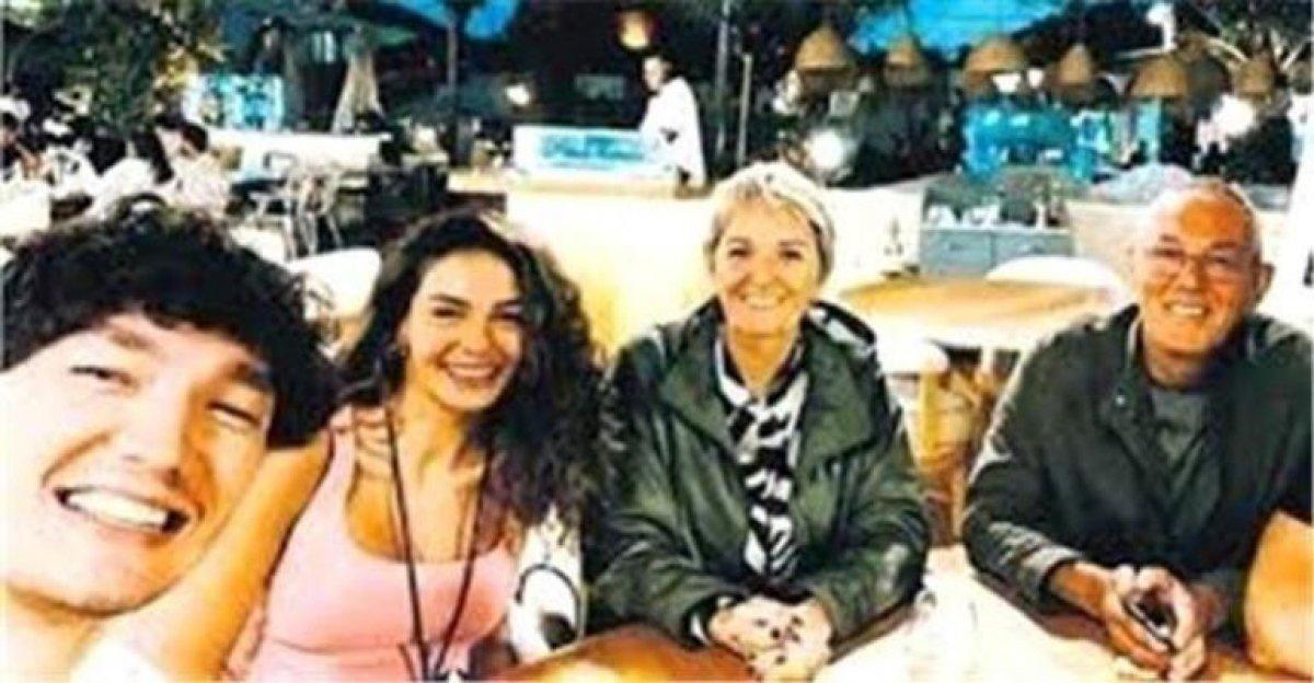Ebru Şahin, Cedi nin akrabalarıyla tanıştı #2